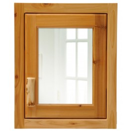 Cedar Hinged Right Medium Medicine Cabinet