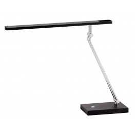 Saber Black Led Desk Lamp