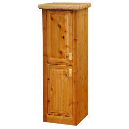 "Cedar 18"" Left Hinged Linen Cabinet With 2 Single Doors"
