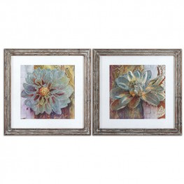 Sublime Truth Floral Art Set of 2