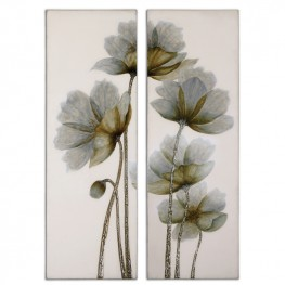 Floral Glow Floral Art Set of 2