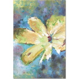 Blossom In Yellow Hand Painted Art