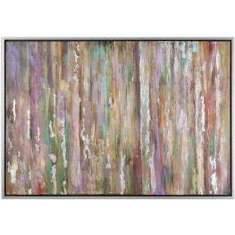 Silver Choices Abstract Wall Art