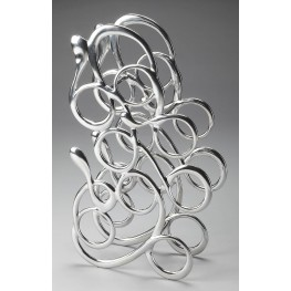 3490220 Loft Nickel Wine Rack