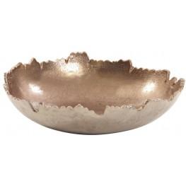 Copper Broken Edge Bowl and Wall Art