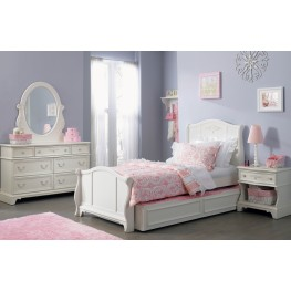 Arielle Youth Sleigh Bedroom Set