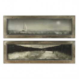 Twilight Sail Framed Art Set of 2