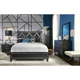 Alexis Gray Panel Bedroom Set