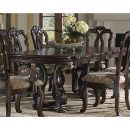 San Marino Extendable Pedestal Dining Table