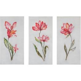 Springtime Promise Floral Art Set of 6