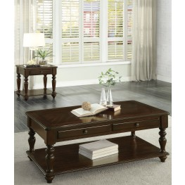 Lovington Brown Lift Top Occasional Table Set
