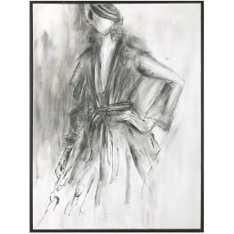 Charcoal Sketch Wall Art