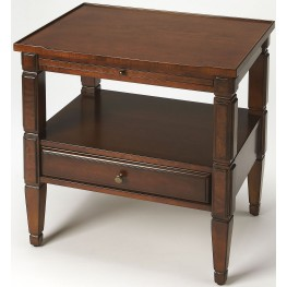 Masterpiece Winston Antique Cherry Accent Table