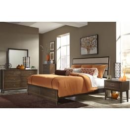 Hudson Square Espresso Panel Bedroom Set
