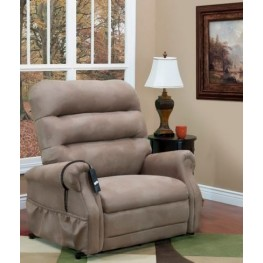 Stampede Mocha Three Way Reclining Lift Chair