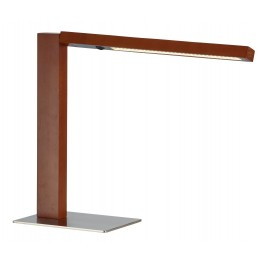 Linden Dark Walnut Led Desk Lamp