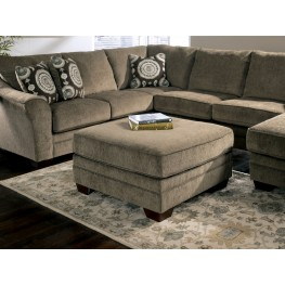 Cosmo Marble Oversized Accent Ottoman
