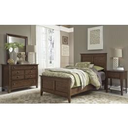 Grandpas Cabin Brown Youth Panel Bedroom Set
