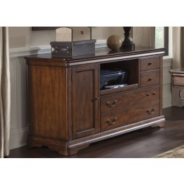 Harbor Ridge Rustic Cherry Credenza