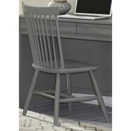 French Market Zinc Desk Chair
