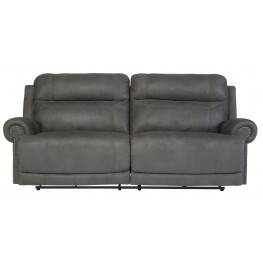 Austere Gray Power Reclining Sofa