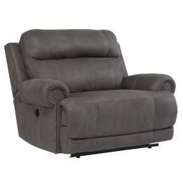 Austere Gray Zero Wall Wide Seat Recliner
