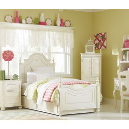 Charlotte Youth Low Poster Bedroom Set