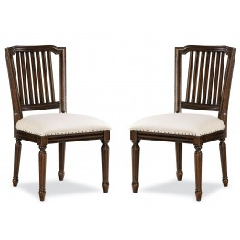 Riverhouse River Bank Pull-Up Side Chair Set of 2