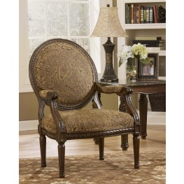 Cambridge Amber Showood Accent Chair