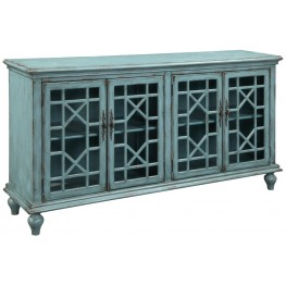 39620 Four Door Media/Credenza