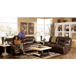 Exhilaration Chocolate Reclining Living Room Set