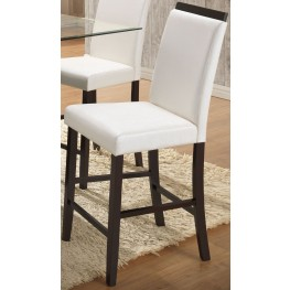 Natasha Parson White Counter Stool