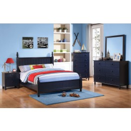 Zachary Youth Low Poster Bedroom Set