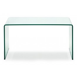 Caravan Clear Glass Desk