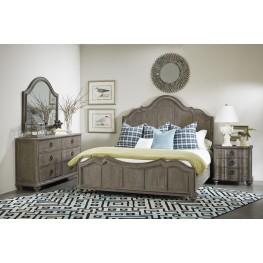Allie Remnant Panel Bedroom Set
