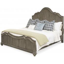 Allie Remnant King Panel Bed