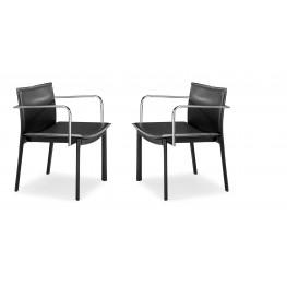 Gekko Conference Chair Black Set of 2
