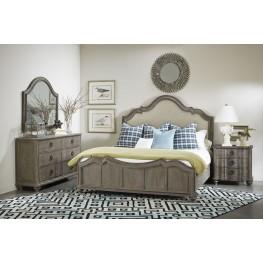 Allie Remnant Upholstered Panel Bedroom Set