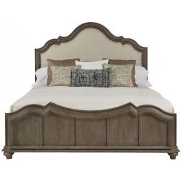 Allie Remnant Cal. King Upholstered Panel Bed