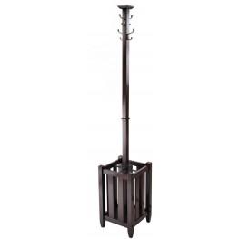 Memphis Cappuccino Coat Tree/Umbrella Rack
