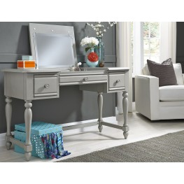 Summer House Youth Dove Gray Vanity Desk