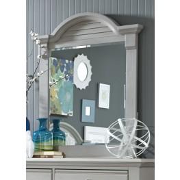 Summer House Dove Gray Small Mirror
