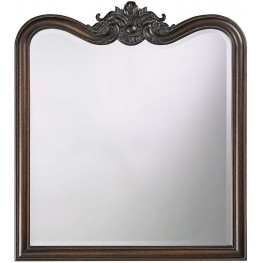 Eliza Vintage Silver Mirror