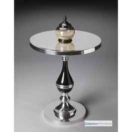 Nickel Plated 4085220 Accent Table