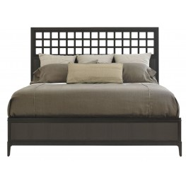 Wicker Park Wood King Panel Bed