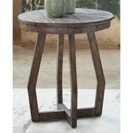 Hayden Way Gray Wash Chair Side Table