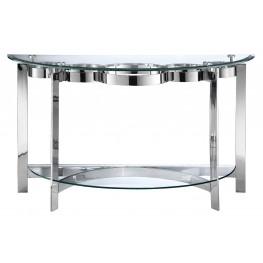 Mercury Demilune Sofa Table