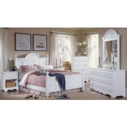 Carolina Cottage White Youth Cottage Bedroom Set
