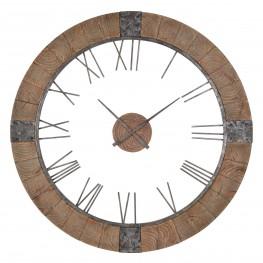 Verity Wood Frame Clock