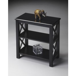 Masterpiece Black Licorice Bookcase
